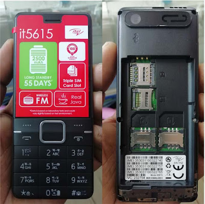 Itel it5615 Flash File 6531E Without Password