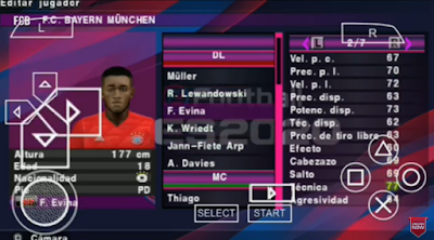PES 2020 Update Texture 2020 PPSSPP