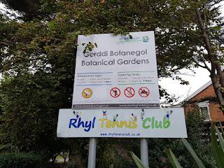 Rhyl Botanical Gardens