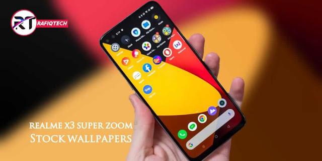 تحميل خلفيات Realme X3 SuperZoom الرسمية بجودة عالية الدقة