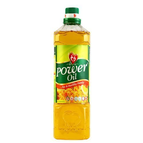Power Oil Pure Vegetable Cooking Oil - 75cl