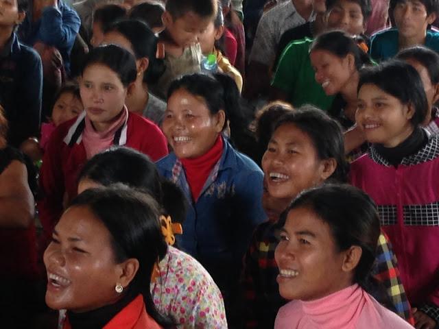 Villageois de Sangke