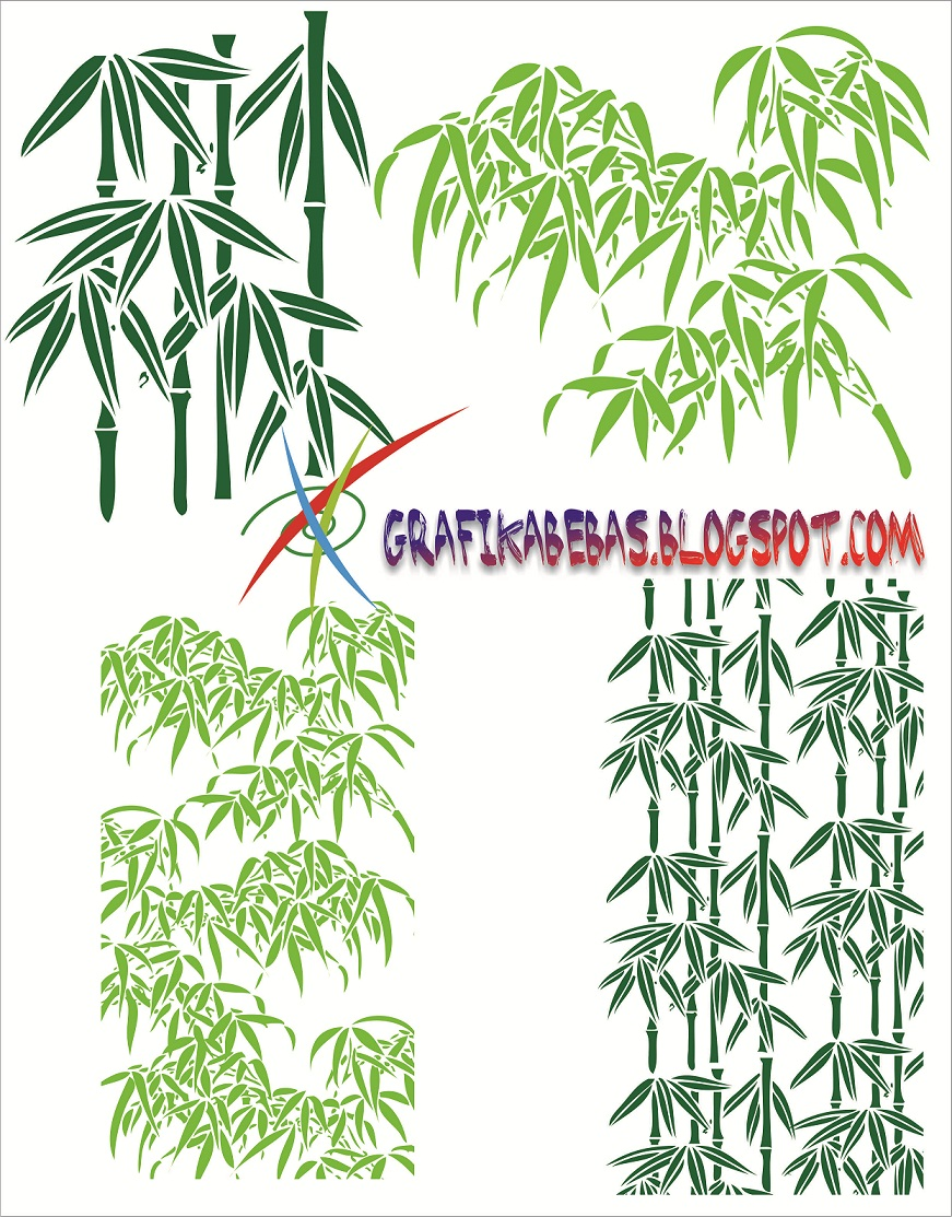 bambu vector pusat desain grafis blogger