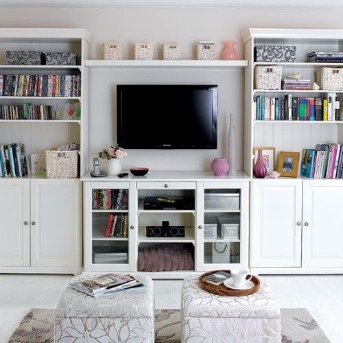 Simple but Smart Living Room