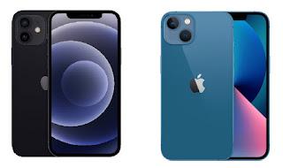مقارنة بين آيفون iPhone 12 و iPhone 13