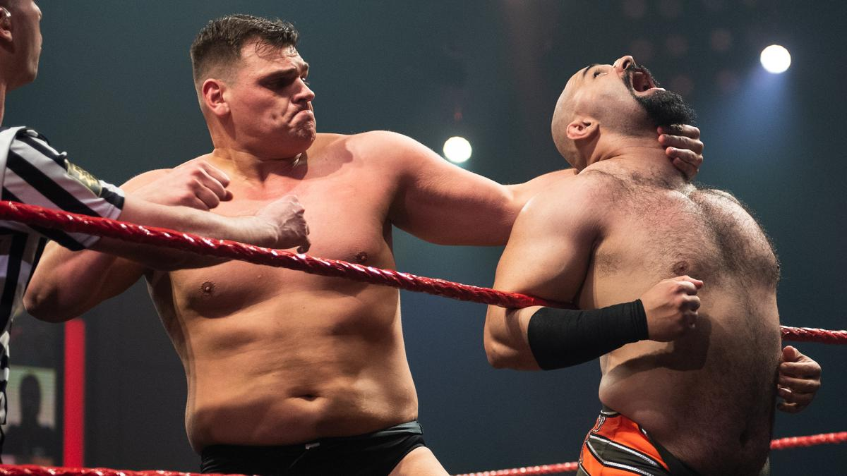 WALTER and Rampage Brown in WWE NXT UK