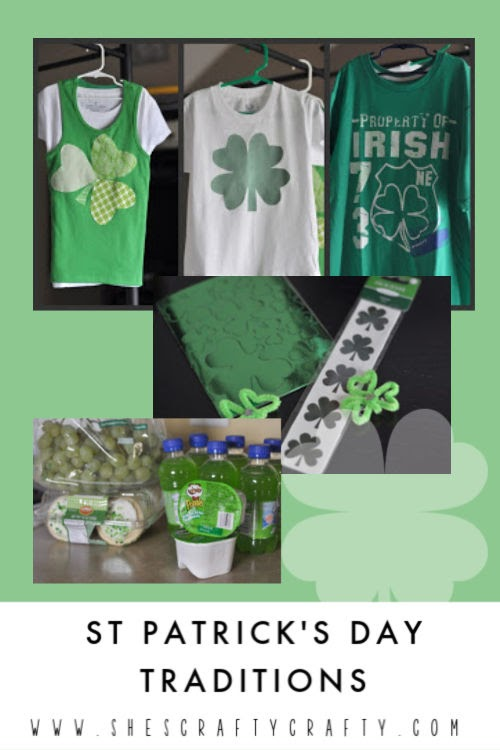 St Patrick's Day Traditions for Families  |   Create fun family traditions with these St Patrick's Day Ideas   |   She's Crafty