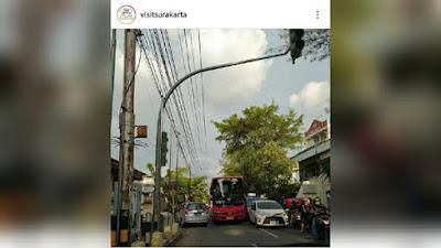 Foto Bus Batik Solo Trans Ugalan yang Viral 169 dan Dikomentari Gibran, Begini Nasib Sopir Bus Solo Trans Ugal-Ugalan