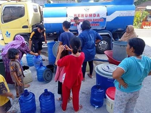 Perumda Air Minum Kota Padang Berbagi Air Kehidupan untuk Masyarakat