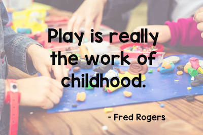 Play is really the work of childhood.