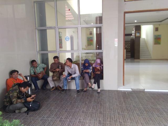 Pelantikan Pejabat di Muratara, Wartawan Diusir