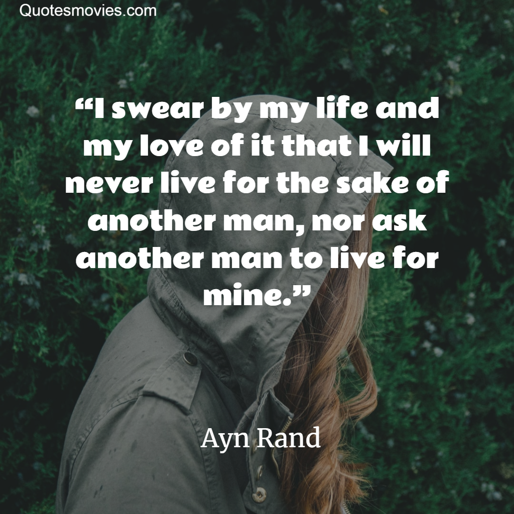 Top Ayn Rand Inspiring Image Quotes The Founder Of