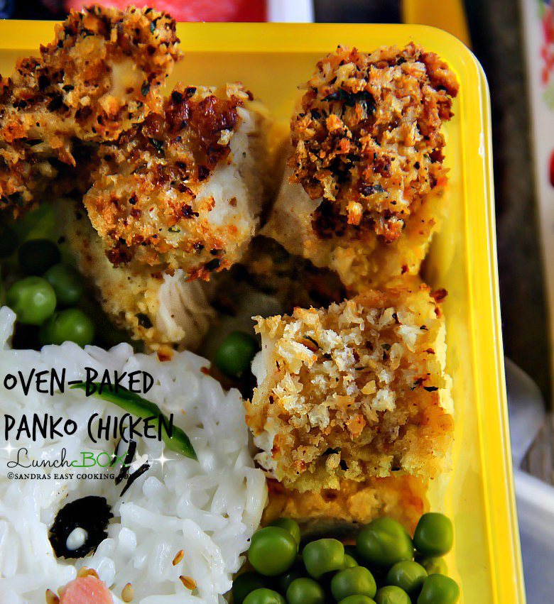 Lunch Box: Oven-Baked Panko Chicken