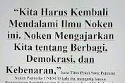 Titus  Pekei : NOKEN GEMPAR DUNIA,  INDONESIA & PAPUA IKUT KAGET!