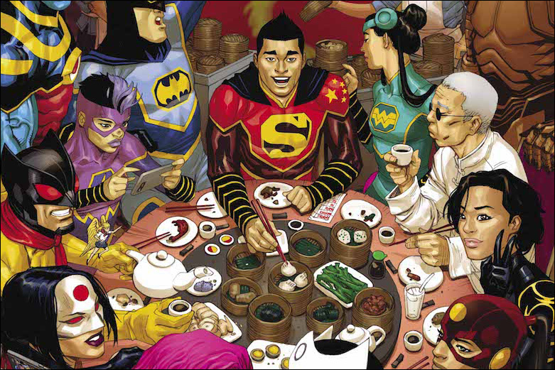 When DC's Asian Superheroes Got Together for Dim Sum