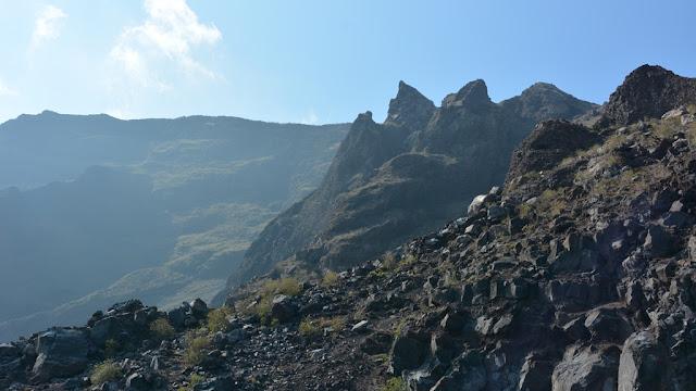Punta Vicente Roca mountains