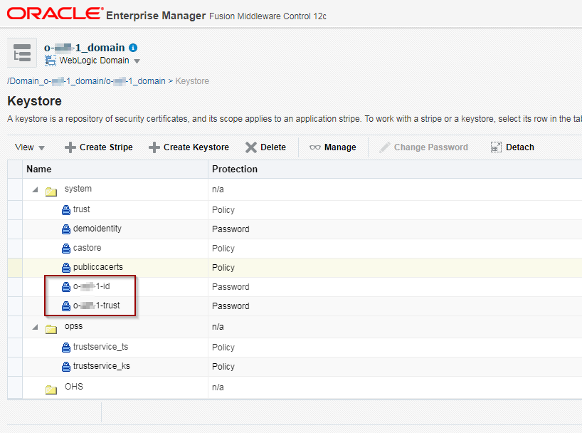 Darwin-IT: Implementing the KeyStore Service with Fusion MiddleWare 12c