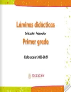 Láminas didácticas Primer grado Preescolar 2020-2021