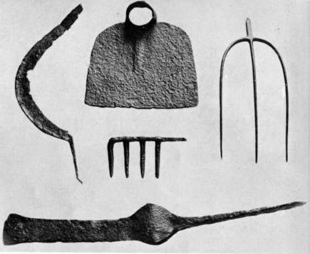 A Woodsrunner's Diary: Tools of The Freed Indentured Settlers.