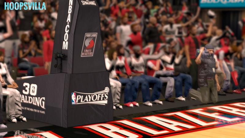 f7f3d1549 NBA 2k14 Stadium Mod   Playoff Edition - Portland Trail Blazers - Moda  Center ...