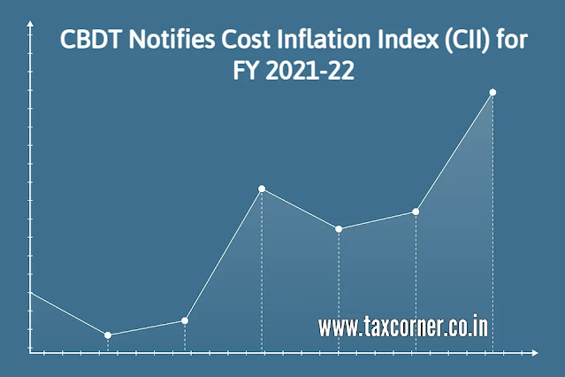 cbdt-notifies-cost-inflation-index-cii-for-fy-2021-22