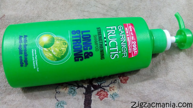 Garnier Fructis Long & Strong Strengthening Shampoo: Online & Price