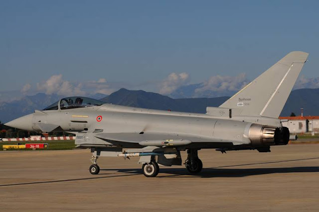 Italian Air Force most advanced Eurofighter