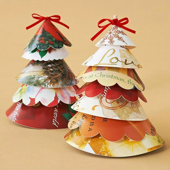 Inkspirational Designs: Make Old Christmas Cards Into New