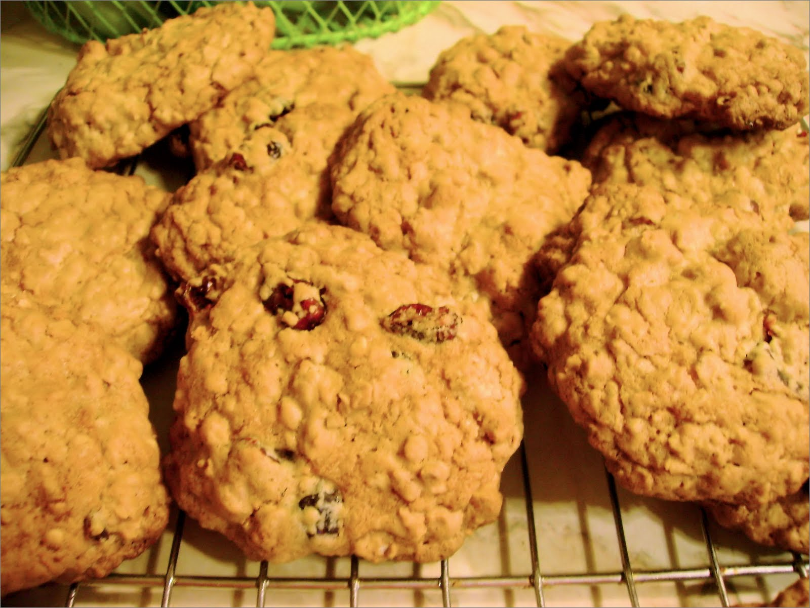 Healthy Cranberry Oatmeal Cookies