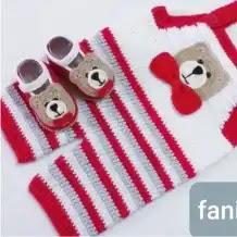Mameluco Bebé Ositos a Crochet