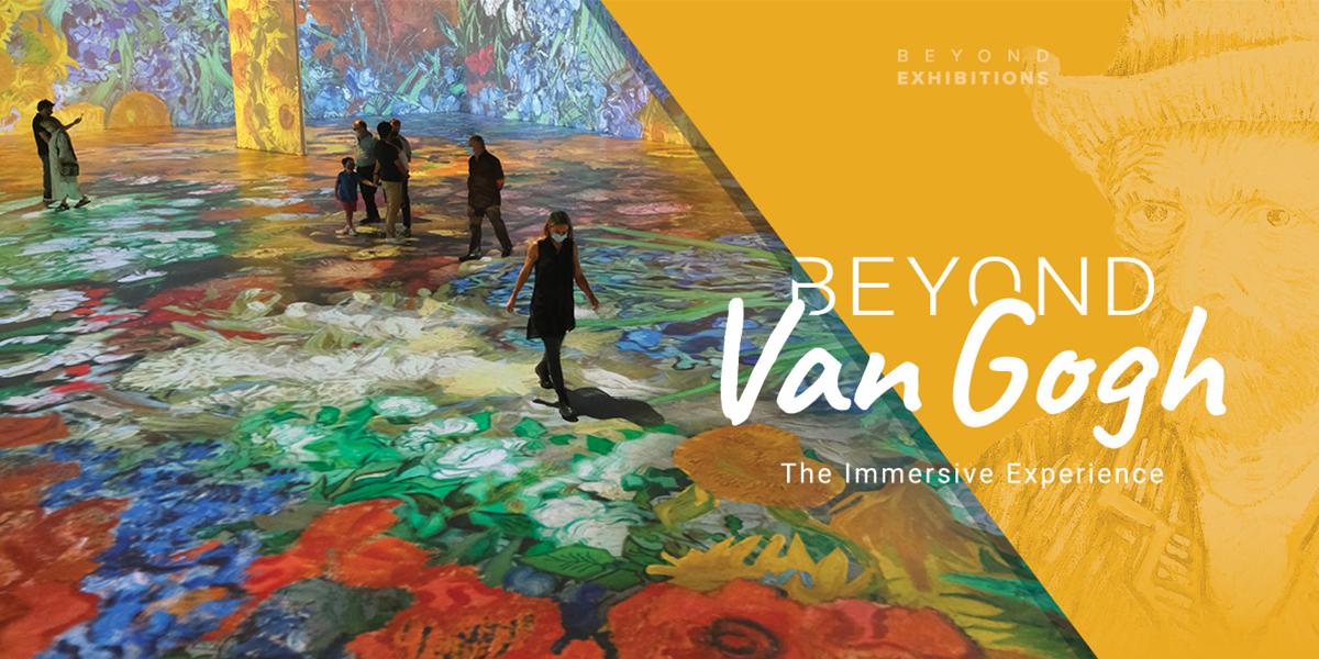 GIVEAWAY: Beyond Van Gogh, June 25-August 15, TCF Center, Detroit