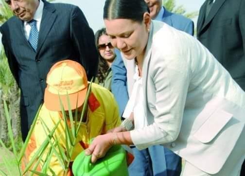 """الأميرة لالة حسناء """"عرابة"""" البيئة والمحيطات في المغرب"""