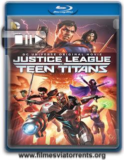 Liga da Justiça vs. Jovens Titãs Torrent - BluRay Rip