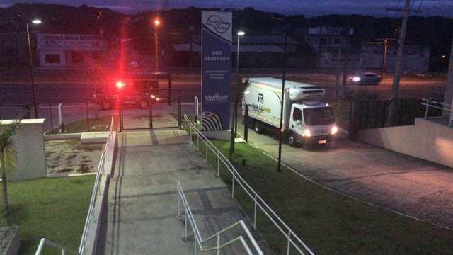 Doses da Vacina Coronavac chegaram  a Registro-SP