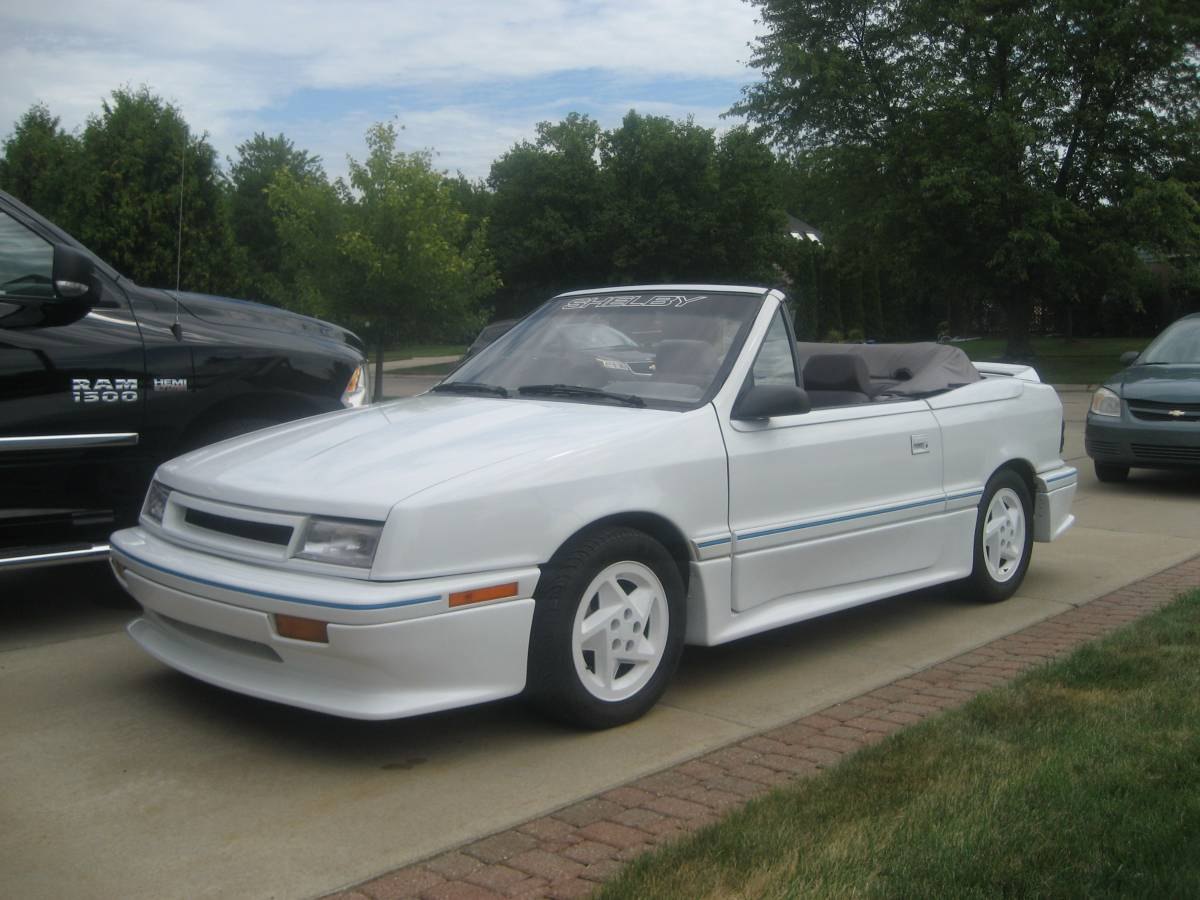 Find This 1991 Dodge Shadow Convertible For In Harrison Township Mi 9 126 Via Craigslist