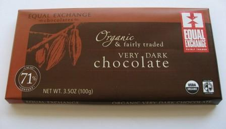 Equal Exchange chocolate
