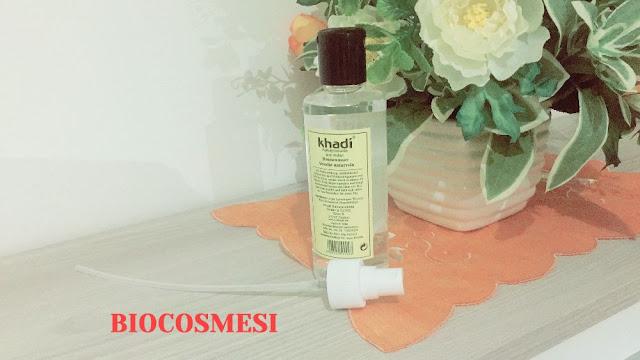 Acqua di Rose Khadi - Recensione, rosa damascena, tonici viso