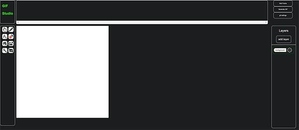 gif studio créer ou modifier des animations GIF