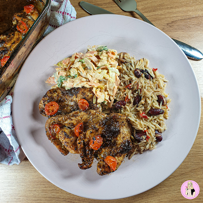 Jerk Flavoured Chicken Recipe slimming world friendly fakeaway