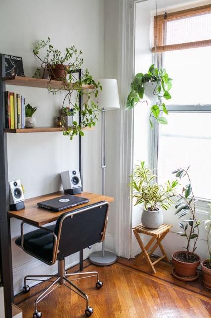 ruang kerja alami