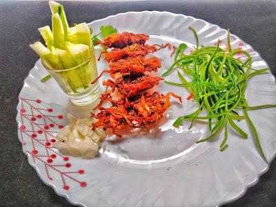 onion pakora recipe at home