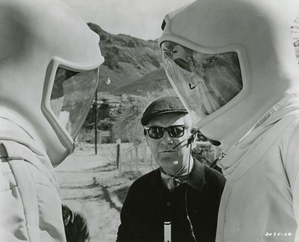 Robert Wise directing The Andromeda Strain