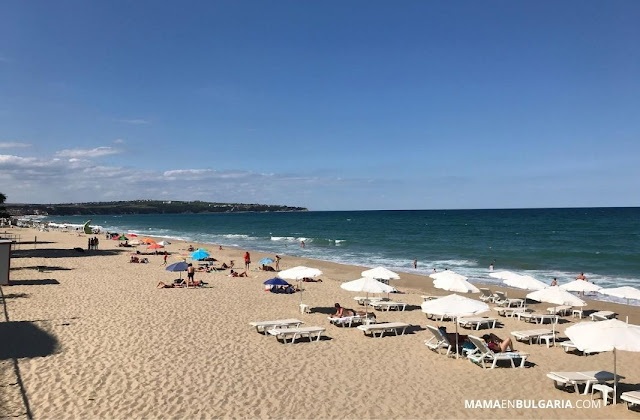Obzor playa mar Negro Bulgaria