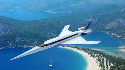 pesawat komersial dengan kecepatan melebihi kecepatan suara
