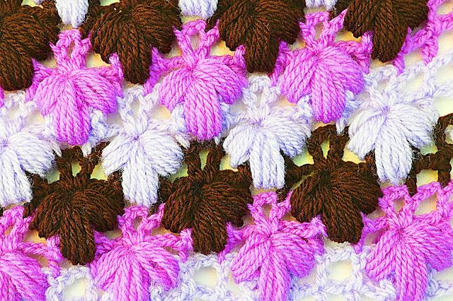 Imagen de puntada verde a crochet y ganchillo Majovel crochet 7