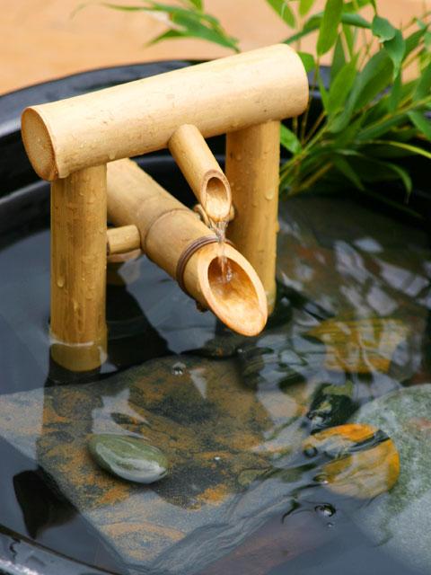 Bamboo Deer Chaser Fountain Bamboo Craft Photo