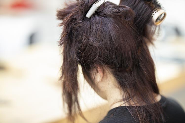 Progressiva no cabelo
