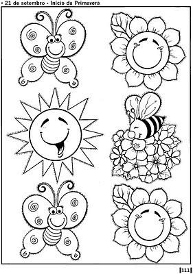 Atividades E Desenhos Para Colorir Da Primavera Mundinho Da Crianca