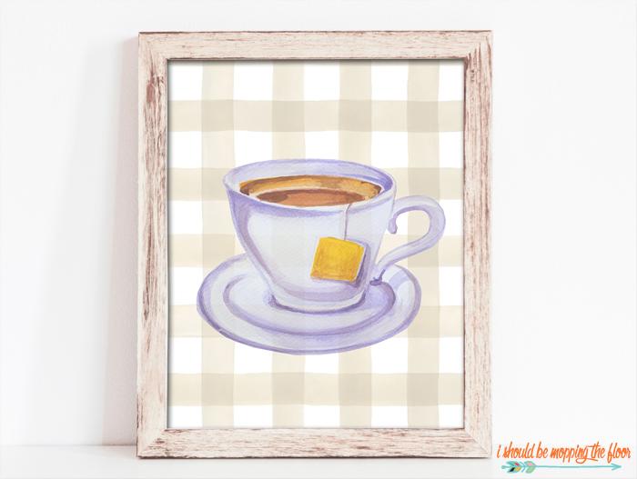 Tea Printable