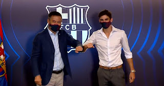 Barcelona President Bartomeu has refuses to attend Trincao's press conference